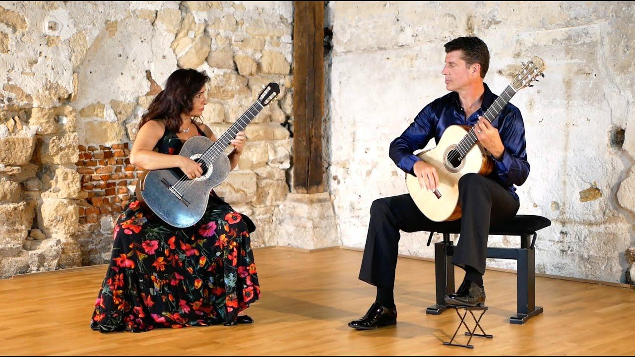 Béatrice Morisco et Emmanuel Rossfelder - Concerto d'Aranjuez (extrait)