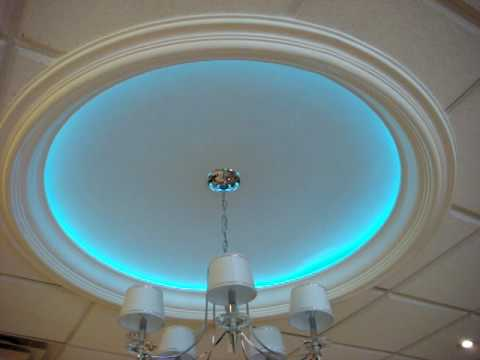 Rgb Led Dome Color Changing Lighting Youtube