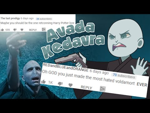 I Designed One Scene to Make Voldemort more Hate-able. It Worked.