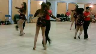 Central Jersey Dance Sociey Salsa Sensation Mike Andino's Teen Team Performance on 10-07-2012