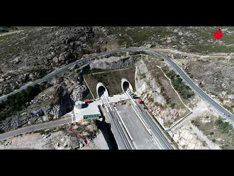 ¿Por qué el AVE se retrasa hasta 2023? Las obras, entre Pedralba y Ourense, a vista de dron