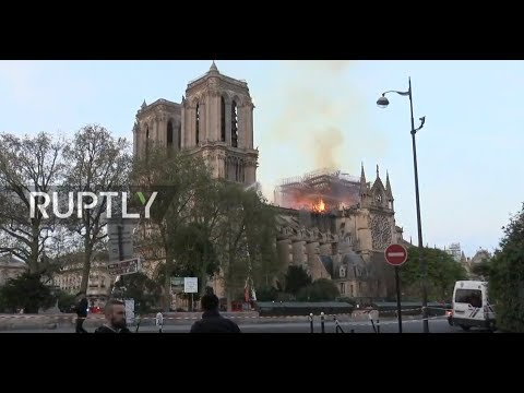: The aftermath of Notre Dame fire in Paris