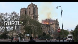 LIVE: The aftermath of Notre Dame fire in Paris