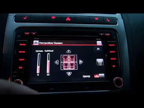 Обзор. Не ожидал от магнитолы ISUDAR. Polo Sedan 2017