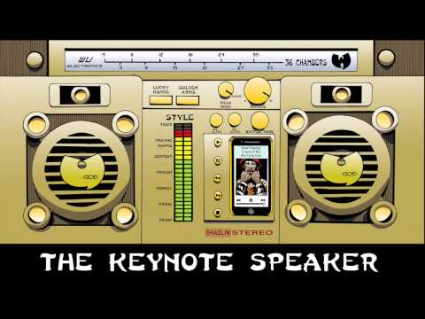 "U-God (of Wu-Tang Clan) - ""Keynote Speaker"" [Official Audio]"