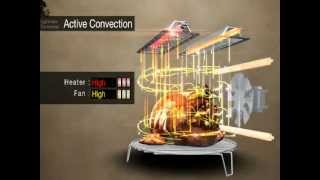 LG Lightwave Convection Microwave with Charcoal Lighting Heater