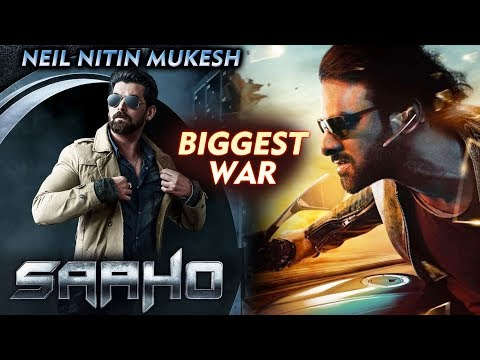 SAAHO Villain Neil Nitin Mukesh FIRST LOOK | Prabhas Vs Neil | Biggest War