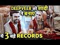 3 Records Created By Deepika Padukone and Ranveer Singh Wedding