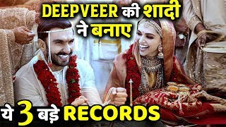 Download Video 3 Records Created By Deepika Padukone and Ranveer Singh Wedding MP3 3GP MP4