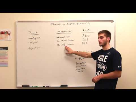 Module 9: What is a threat, vulnerability, and risk?