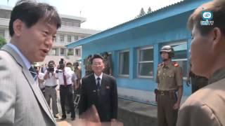 동해상 구조(7.4) 북 선원 2명 판문점 송환 (2015. 7. 14)