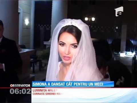 UPDATE / Simona Halep a dansat la nunta fratelui ei, cât pentru un meci de tenis