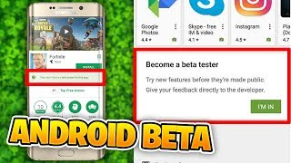 I found the Fortnite ANDROID BETA!! (Fortnite Android Release Date Leaked News)