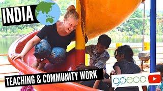 Teaching and Community Work in Goa - India