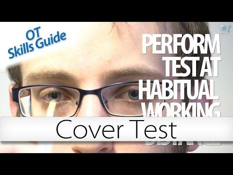 OT skills guide: Cover test