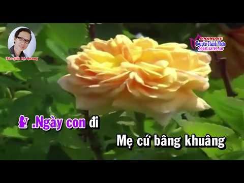 Karaoke vọng cổ LỜI RU CỦA MẸ - SONG CA ĐÀO [T/g Lê Quang]