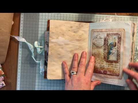 Back to Nature  Vintage journal Artymaze