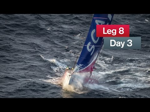 It's magenta! | Volvo Ocean Race 2014-15