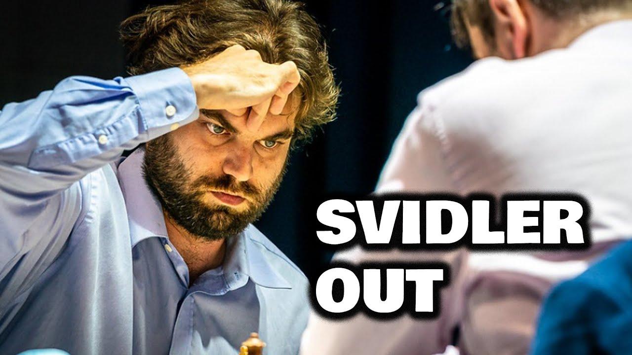 Sam is quater-final   Shankland - Svidler