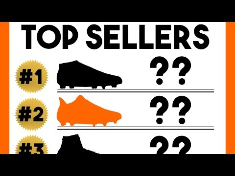 Top 10 Best Selling Football Boots Of The Year! - Cleats Top Sellers