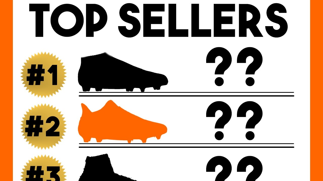 19984ba2127 Top 10 Best Selling Football Boots of the Year! - Cleats Top Sellers ...