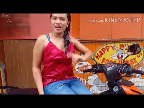 Motorycle wash / Wearing Jeans