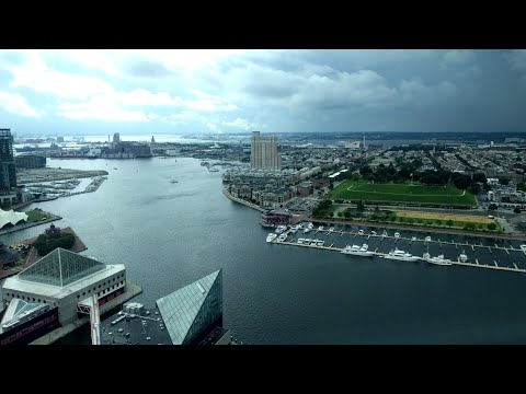 Top of the World Observation Level of the Baltimore World Trade Center