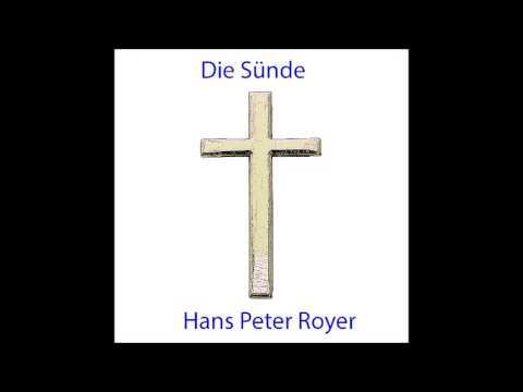 Die Sünde - Hans Peter Royer