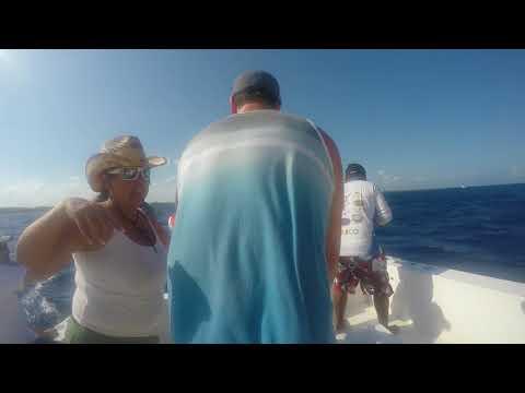 Deep Sea Fishing In The Mayan Riviera