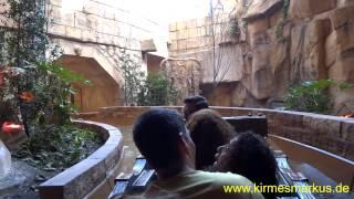 Chiapas Die Wasserbahn Phantasialand Onride Video 01.04.2014 by kirmesmarkus