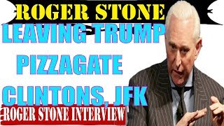 Roger Stone SEP 3-Leaving Trump,Pizzagate,Clintons,JFK...Norton,Roberts-Alex Jones 1st