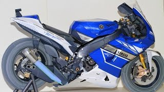 Motor paper craft: Best realistic life size papercraft yamaha