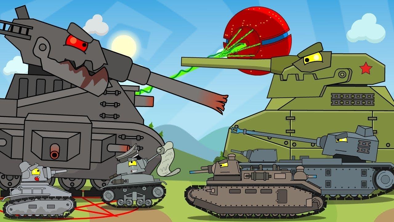 Все серии Левиафана + бонусная концовка / Мультики про танки