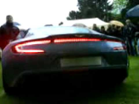 Aston Martin One 77 Exhaust Sound Live Como April 26th 2009 Youtube