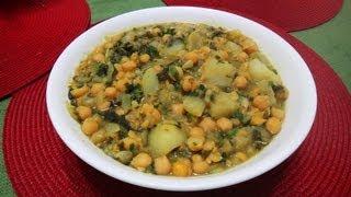 Chana Aloo Masala (chickpeas Potato Curry)