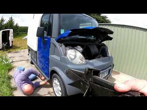 the MAD tale of the Aixam Mega van