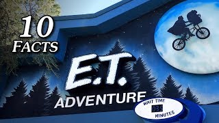 10 Facts: E.T. Adventure Ride at Universal Studios Florida