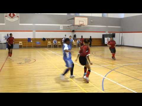 #2 Womens Futsal YMSC Lady Bluebirds vs Somerset Hurricanes Bermuda January 21 2012