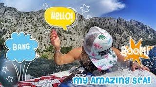 My sea. Montenegro. Summer time. | Мое лето в Черногории