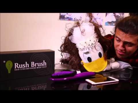 شوف غلاسة بطوطة على خدمة العملاء في ®Rush Brush