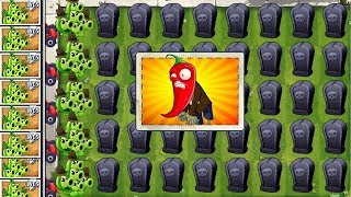 Plants vs Zombies 2 Pea Pod and Jalapeno Gameplay Fight PVZ 2