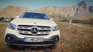 Фото с обложки Mercedes X-Class Walkaround | Top Gear