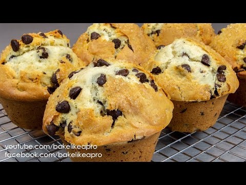 Easy Jumbo Chocolate Chip Muffins Recipe