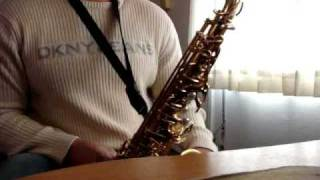 El señor es mi pastor/ smooth jazz Best song and lyric saxophone alto