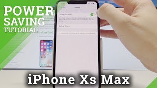 How to Enable Low Power Mode in iPhone Xs Max - iOS Battery Saver