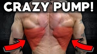 Insane Back & Bicep Workout (Crazy Pump!)