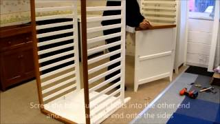 How to build a Mothercare Summer Oak Cot - Jade Babycare Logistics Thumbnail