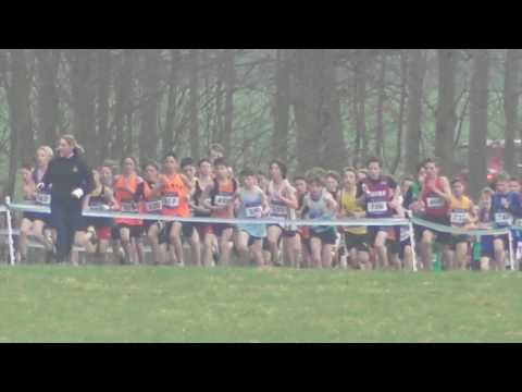Under 13 Boys UK Inter Counties National Cross Country Championships 11032017