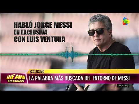 Jorge Messi se defendió de las acusaciones de lavado de dinero