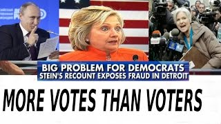 Detroit Voter Fraud and The Russians